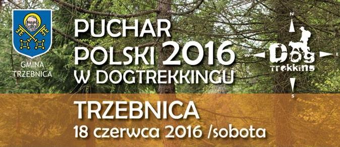 Puchar Polski w Dogtrekkingu - Trzebnica 2016 (relacja video)
