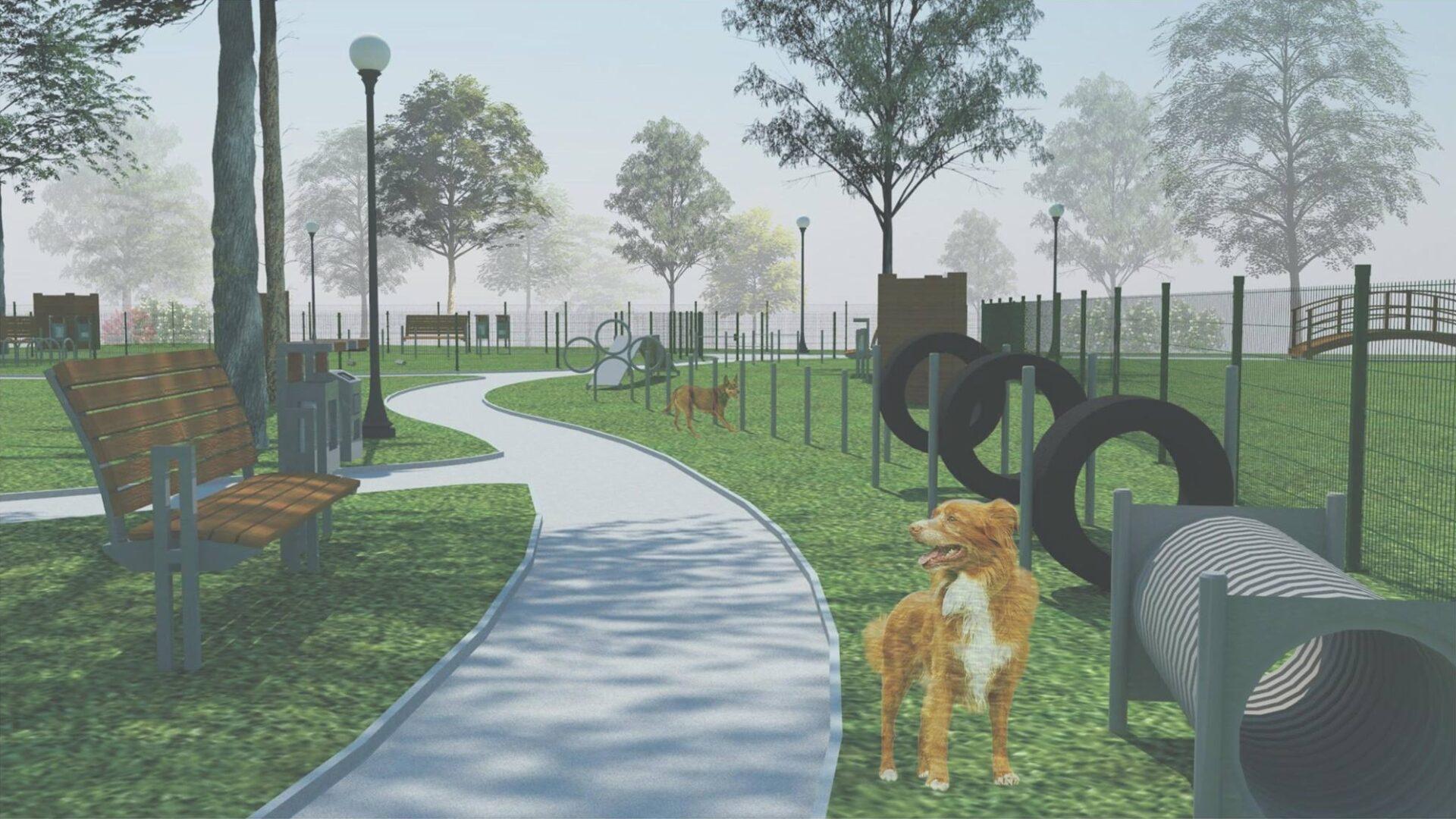 Powstaje Park dla Psów